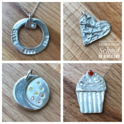 Intermediate Clay made with Hampshire School of Jewellery