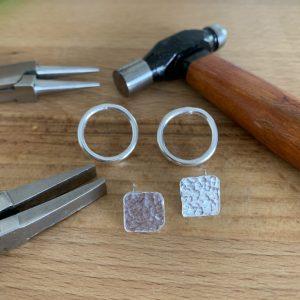 Stud earrings - make your own