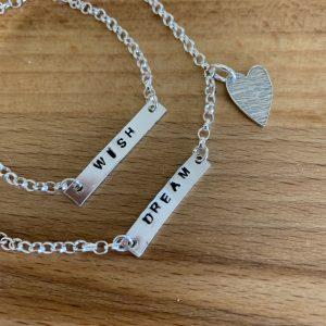 Making Stamped Jewellery in Basingstoke