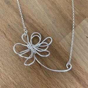 silver flower pendant class in Basingstoke / Odiham