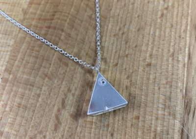Triangle locket
