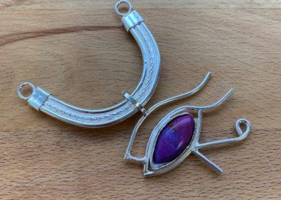 Eygptian eye pendant