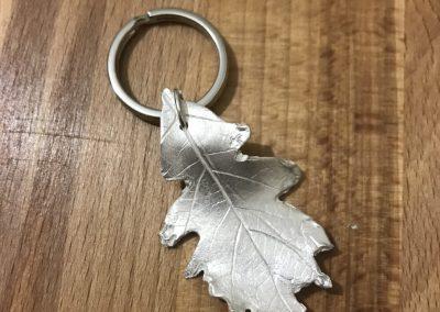 Leaf keyring