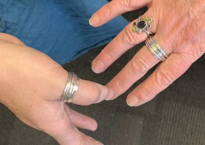 Silver spinning ring class