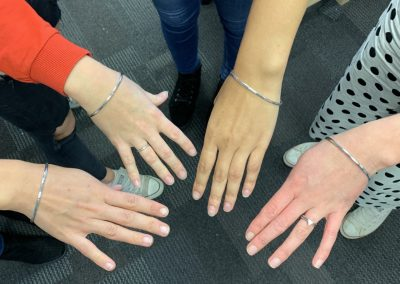 Silver Bangle Making