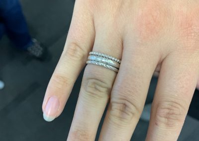 Silver stacking ring class