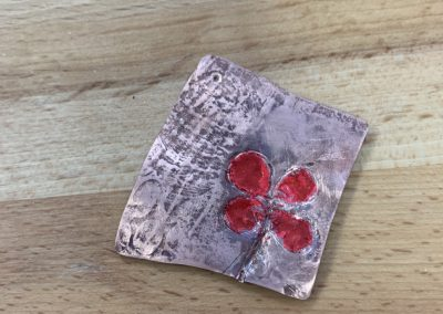 Creating texture and pattern class work