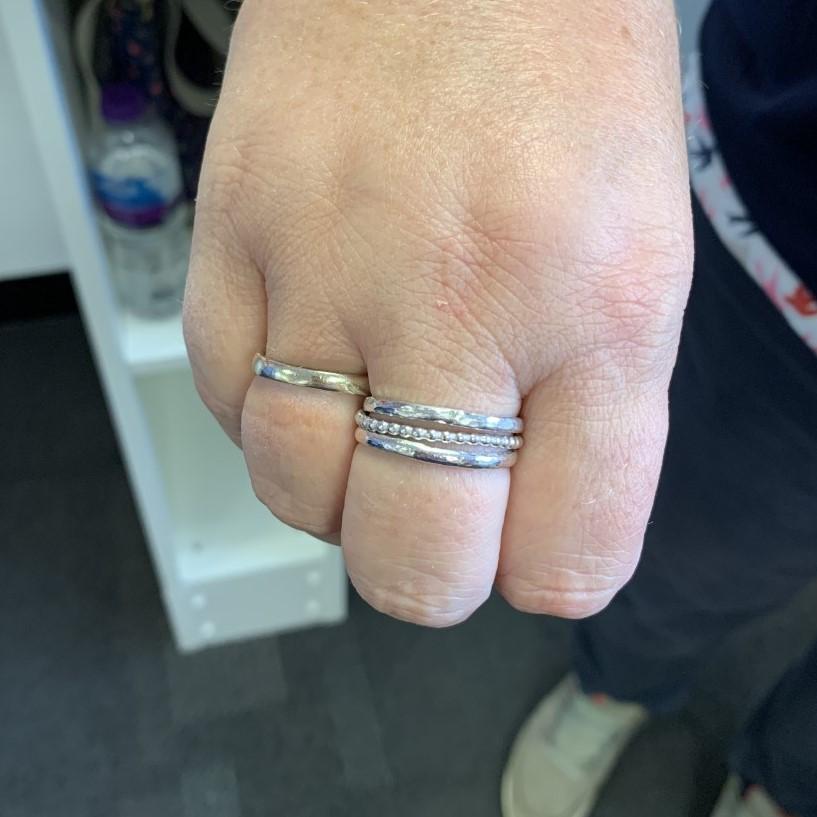 Stacking ring class in Basingstoke