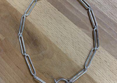 Silver jewellery making class in Basingstoke, Hampshire
